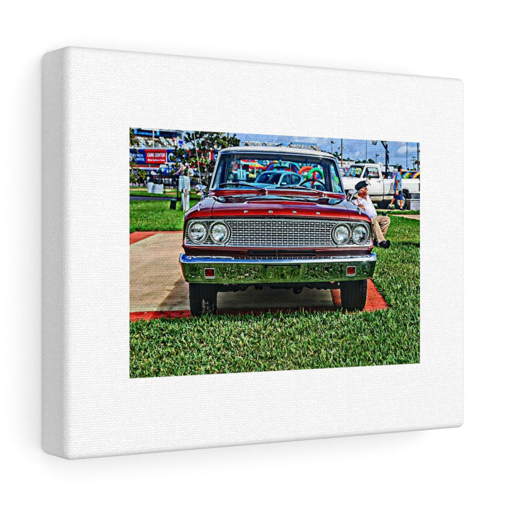 1963 Ford Fairlane Hotrod Canvas Gallery Wraps