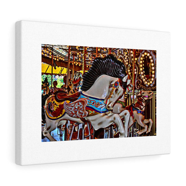 Seattle Carousel Horse Canvas Gallery Wraps Wall Art Home Decor