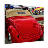 1937 Ford Hotrod Classic Car Canvas Gallery Wraps