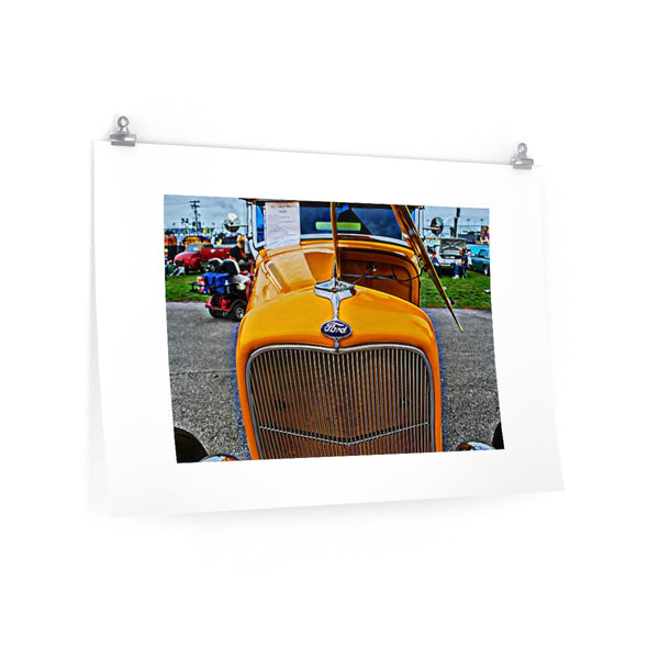 1932 Ford Hot Rod Poster Vintage Car Garage Wall Art