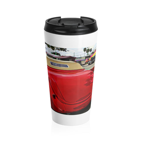 1937 Ford Hotrod Classic Car Stainless Steel Travel Mug