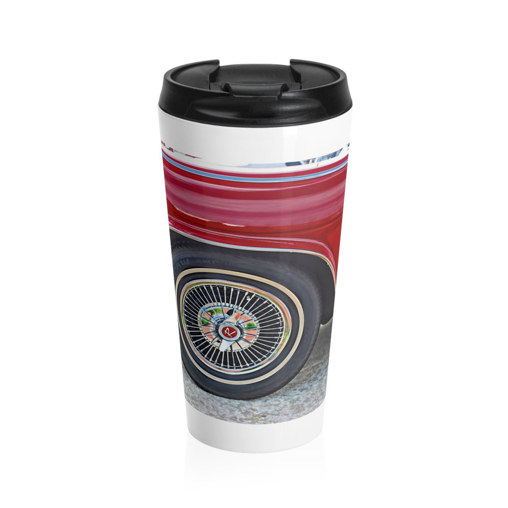 1965 AMC Marlin Muscle Car Hotrod Stainless Steel Travel Mug, Coffee Mug for Guys, Hotrod Coffee Mug