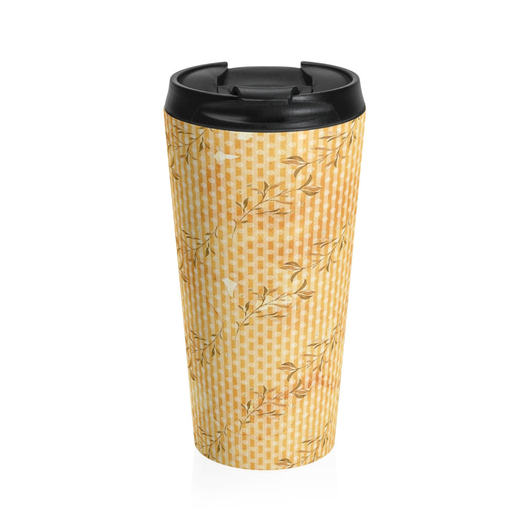Fall Leaves Stainless Steel Travel Mug 15 oz