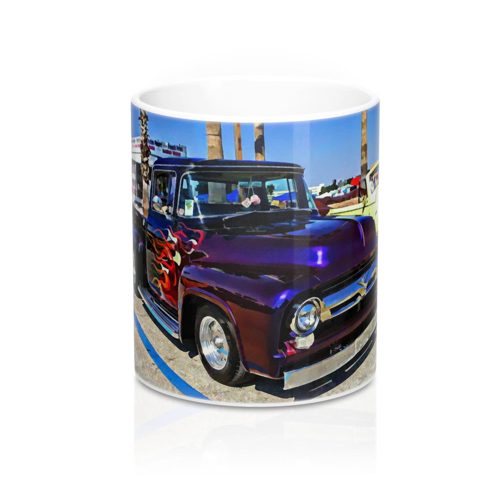 1956 Ford F-Series Coffee Mug, Ford Truck Coffee Mug, Classic Ford Truck Coffee Mug, Hot rod Coffee Mug