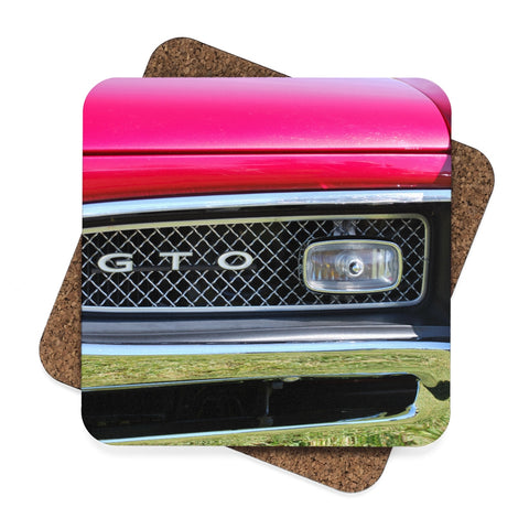 GTO Square Hardboard Coaster Set - 4pcs