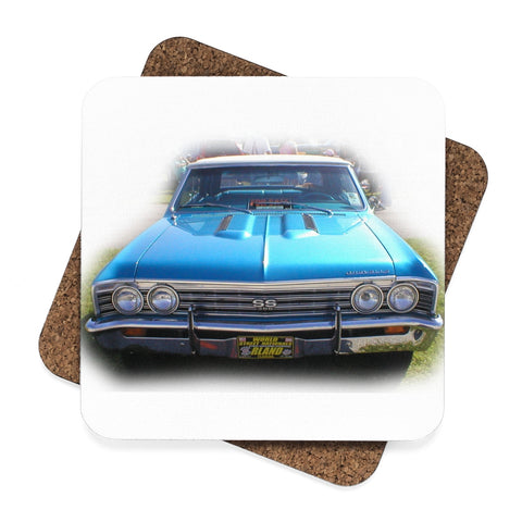chevy impala muscle car coasters