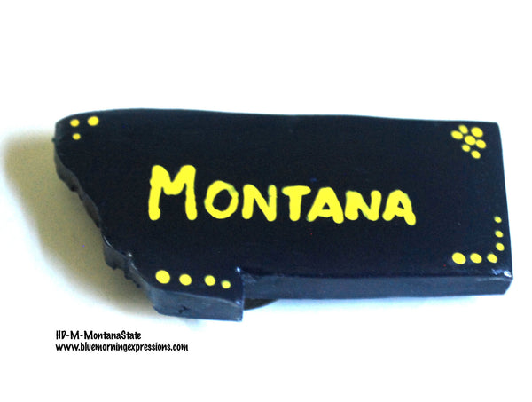 Montana State Kitchen Magnets, Fridge Magnets, Refrigerator Magnets