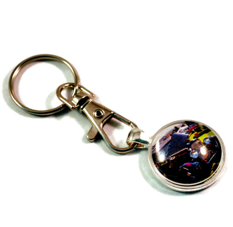 1932 Ford Hot Rod Vintage Auto Mens Keyrings Keychains
