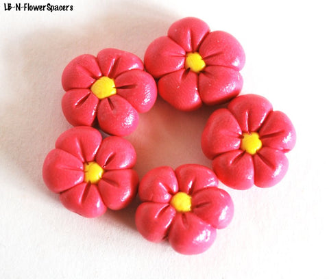Handmade Polymer Clay Beads, Polymer Clay Beads for Sale, Jewelry Making Supplies, Spacer Beads