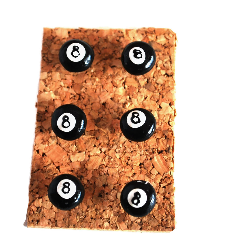 8 Ball Pushpins Corkboard Thumbtacks for Bulletin Boards