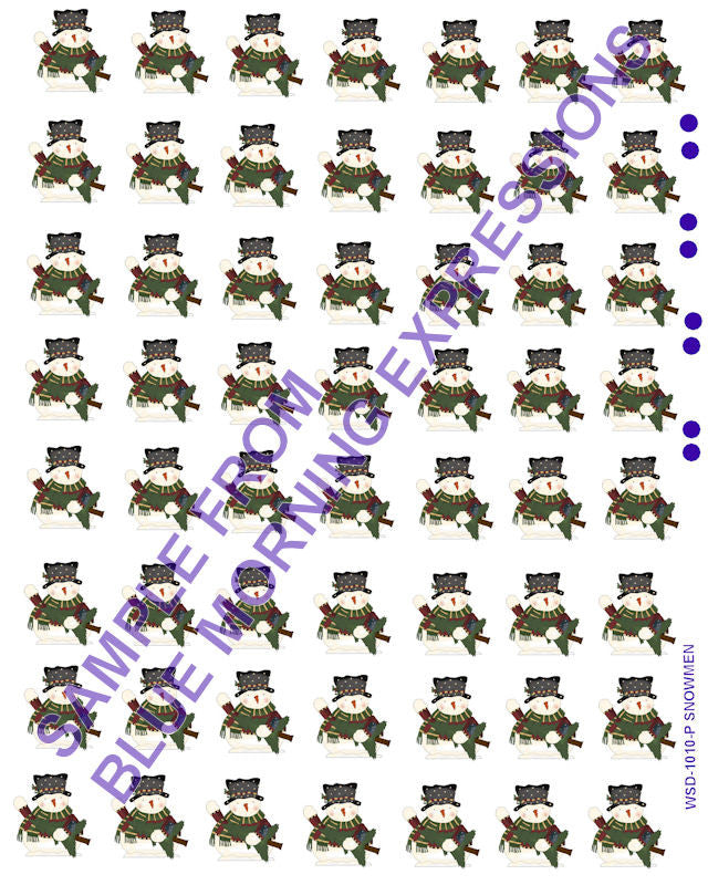 waterslide decals