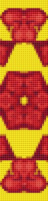 cross stitch bookmark pattern