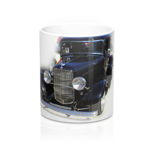 1932 Ford Coffee Mug, Coffee Mug with Vintage Car,  Hotrod Coffee Mug