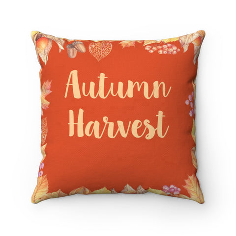 Autumn Harvest Fall Decor Throw Pillow