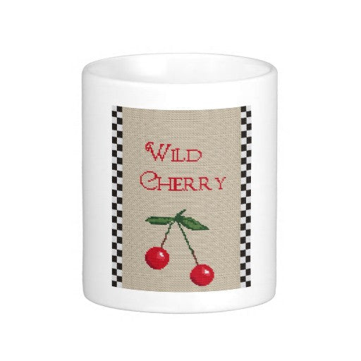 wild cherry coffee mug