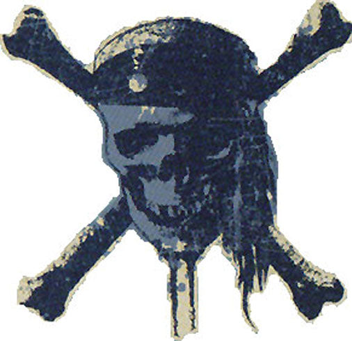 "Large Wall Accent ""Pirates Carribean Worlds End"" Skull"