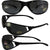 Pacific Coast Sunglasses Hot-dog Sunglasses Matte Black Frames Smoke Len