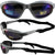 Pacific Coast Sunglasses Freedom Padded Sunglasses Blue Flash Mirror Lens