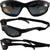 Pacific Coast Sunglasses Freedom Padded Sunglasses Matte Black Frames Grey Lens