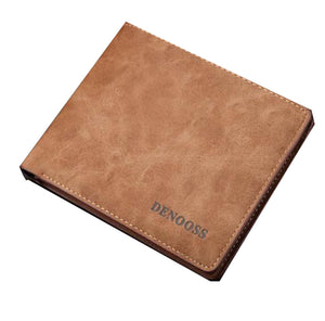 Brown Soft Leather Mens Wallets