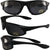 Fairing Sunglasses Interchangeable Polycarbonate Lenses Uv 400 Protection