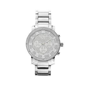 Keokuk Silver Metal Milano Band Watch