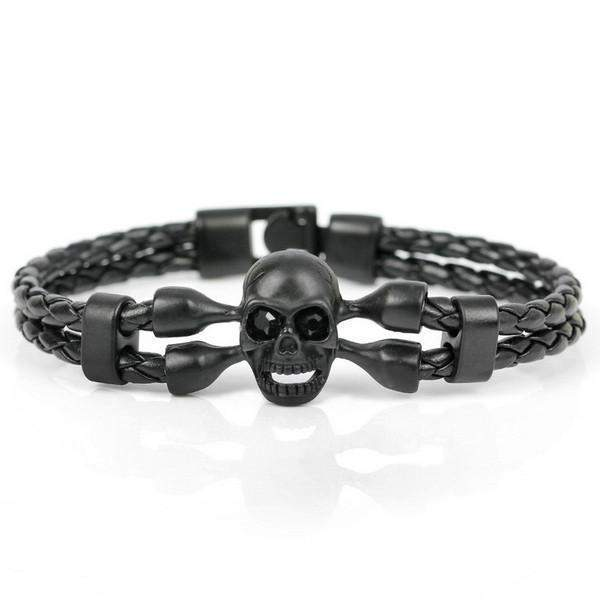 Alloy Skull and Leather