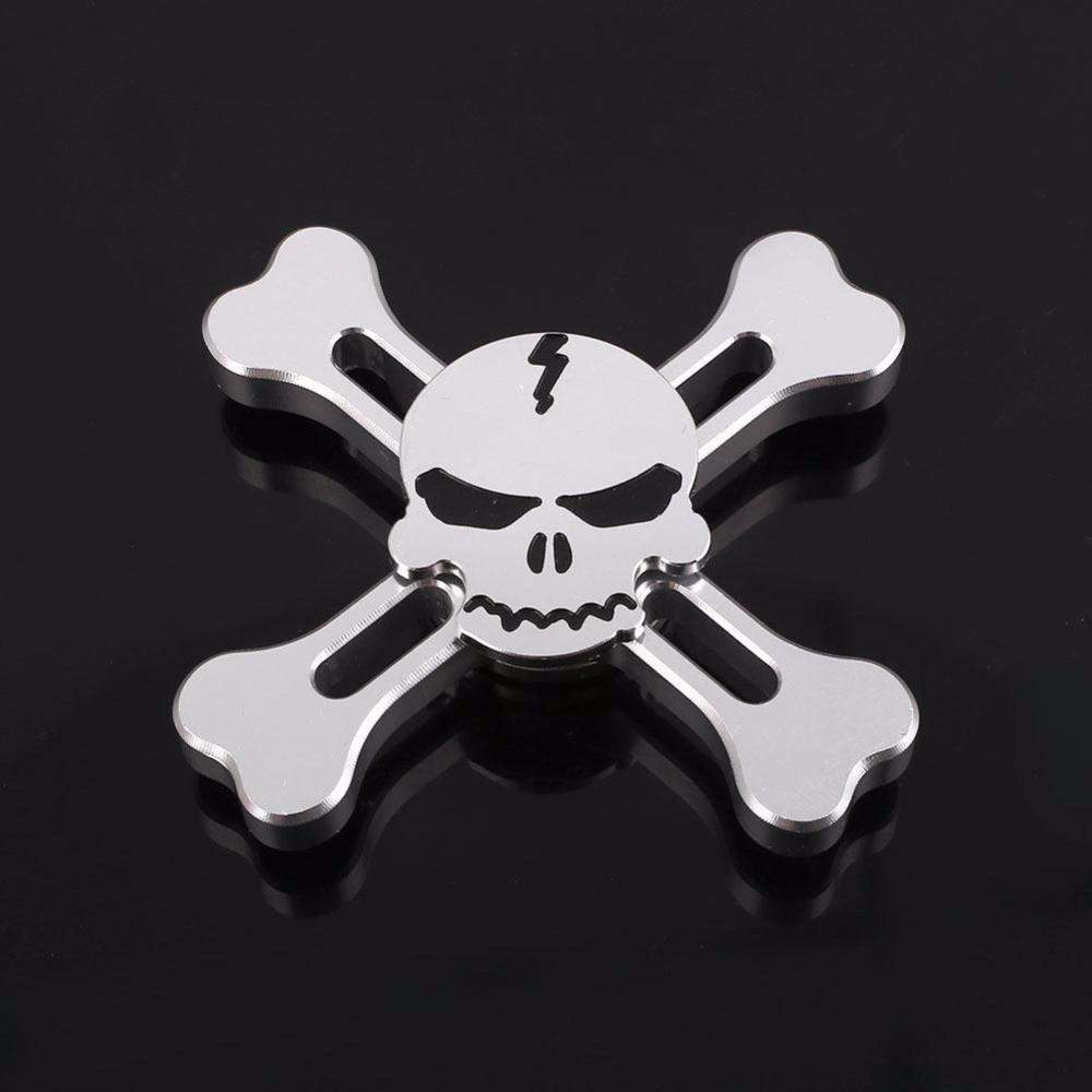 Aluminum Fidget Spinner Skull Special Collection