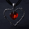 Barbed Heart Pendants
