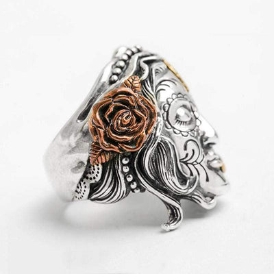 Beauty Beast Sterling Rings