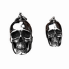 Big Stainless Steel 3D Skull Pendants