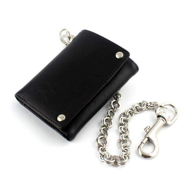 Black Trifold Wallets