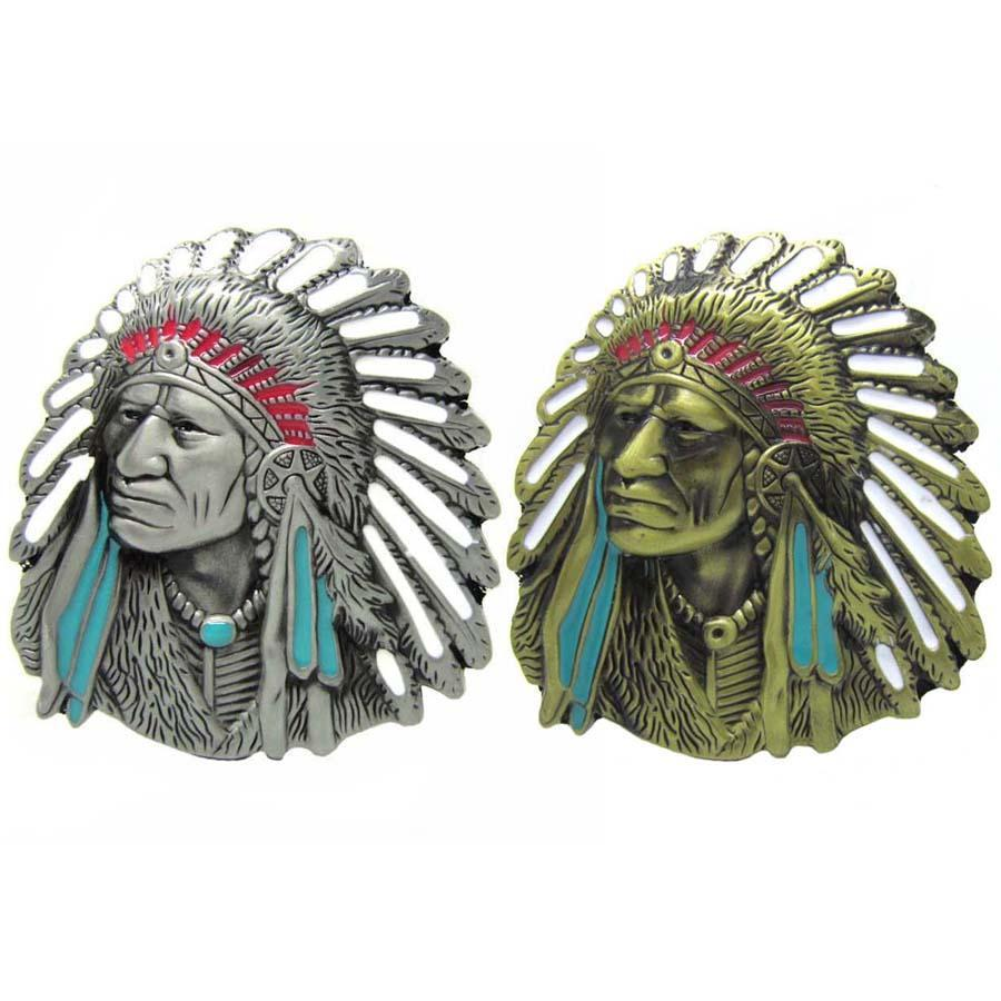 Chief Belt Buckle-special collection-Rear Tone