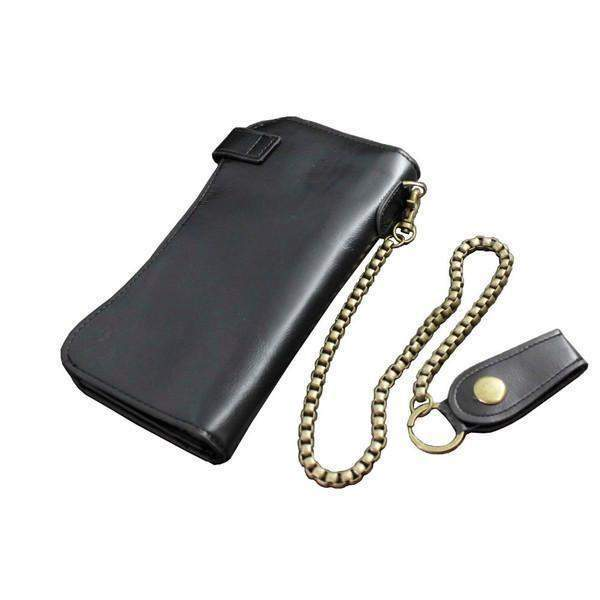 Black Long Wallets