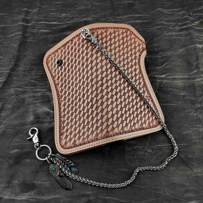 Cross Pattern-Wallets-Rear Tone