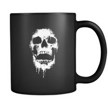 12 Oz Dripping Skull Coffe Mug