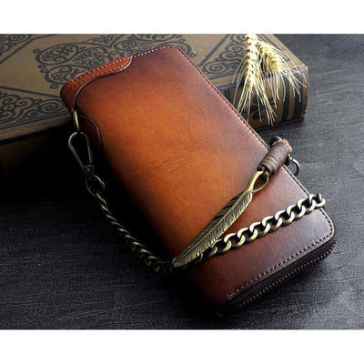 Eagle Feather-Wallets-Rear Tone