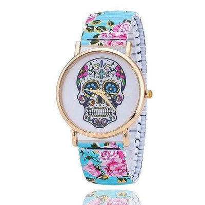 Flower Pattern Quartz Women's Watches