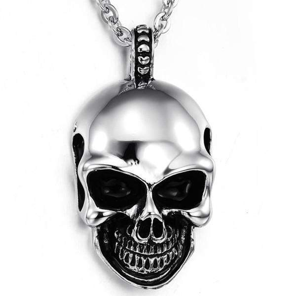 Big Happy Skull Pendant