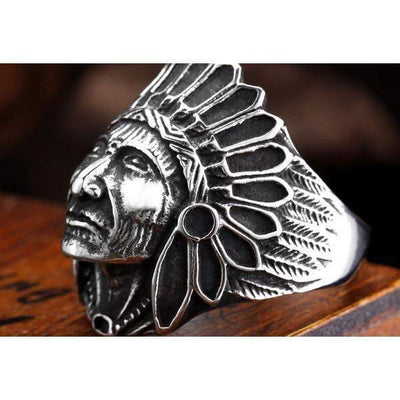 Indian Chief Rings