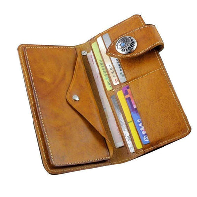 Indian Concho Wallets