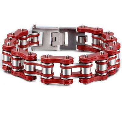 Motorcycle Chain Link Bracelets