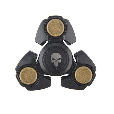 Plastic Fidget Spinner Skull Special Collection