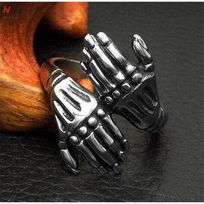 Skeleton Hand Rings