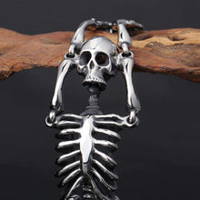 Stainless Body Skeleton Bracelet