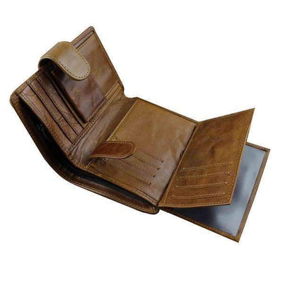 Texas Star Brown-Biker Wallets-Brown-Rear Tone