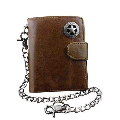 Texas Star Brown Wallets