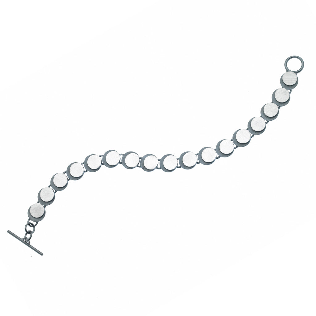 eclipse circle link bracelet