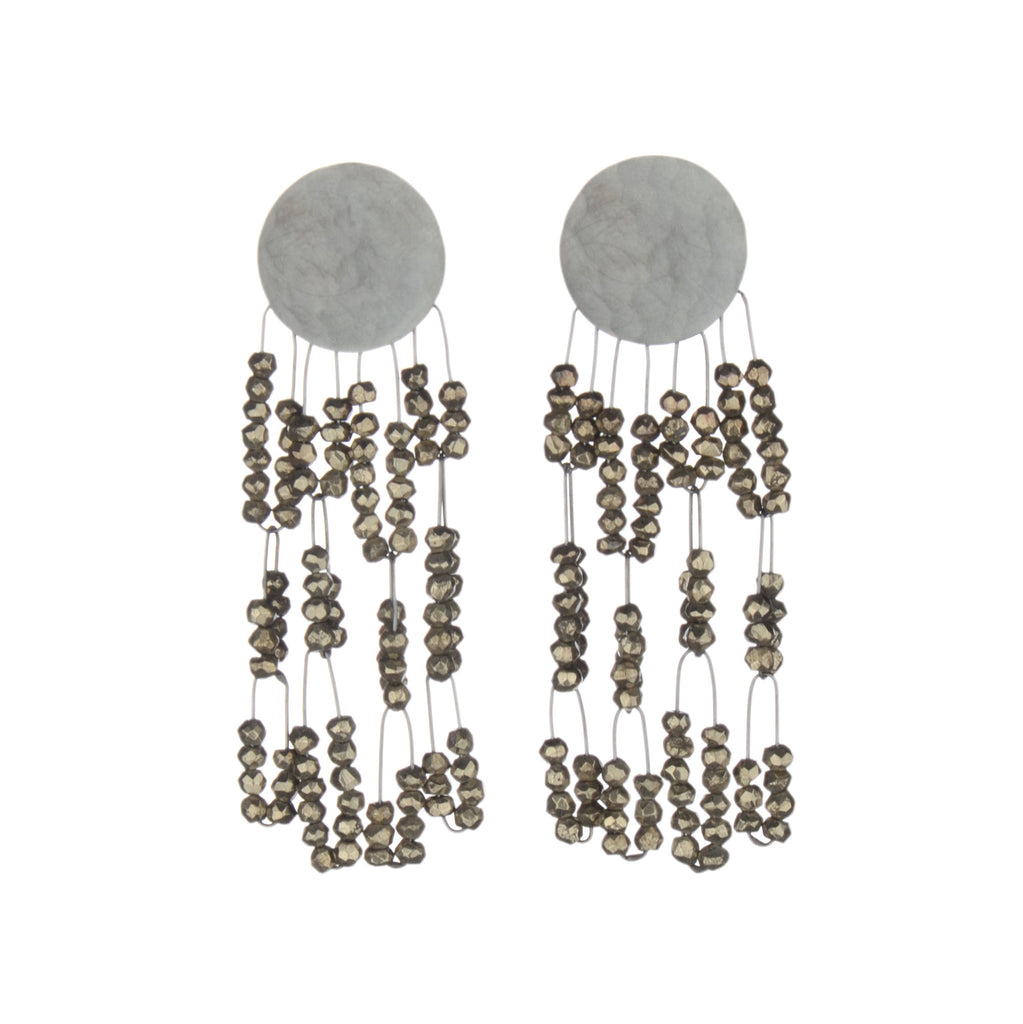 deco tangle earrings