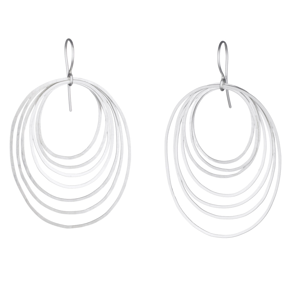 large ripple earrings